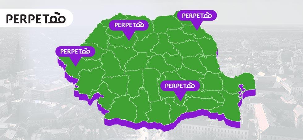 Serviciul care îți permite să îți inchiriezi mașina a fost lansat oficial: Perpetoo este disponibil în patru orașe din România