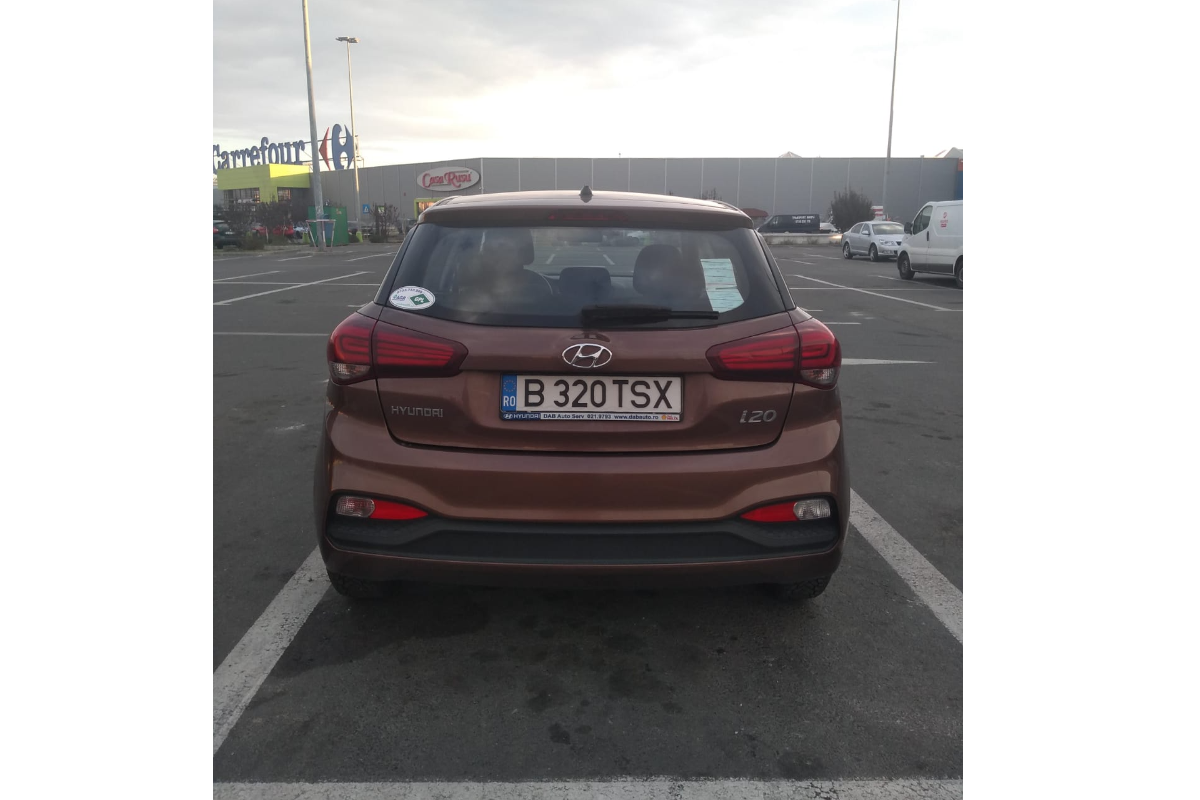 Imagine Inchiriaza auto HYUNDAI i20 2019 4