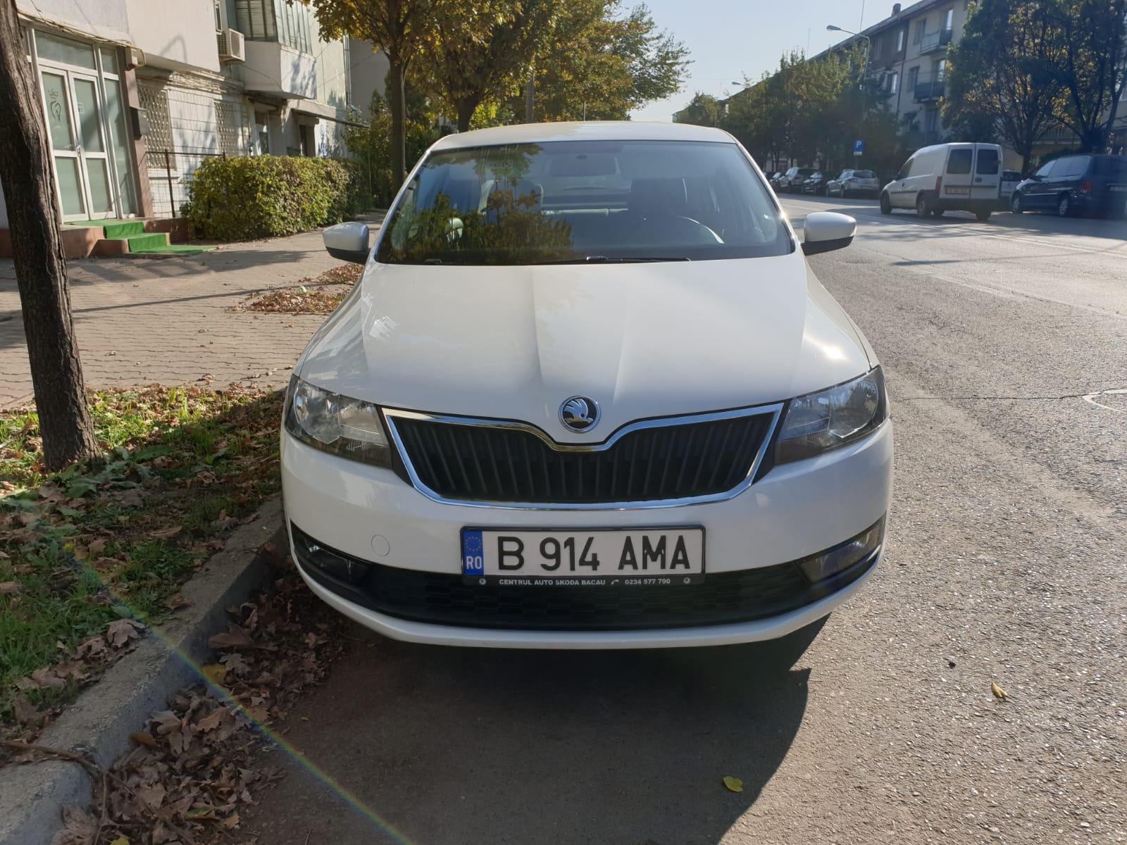 Imagine Inchiriaza auto SKODA Rapid 2019 1