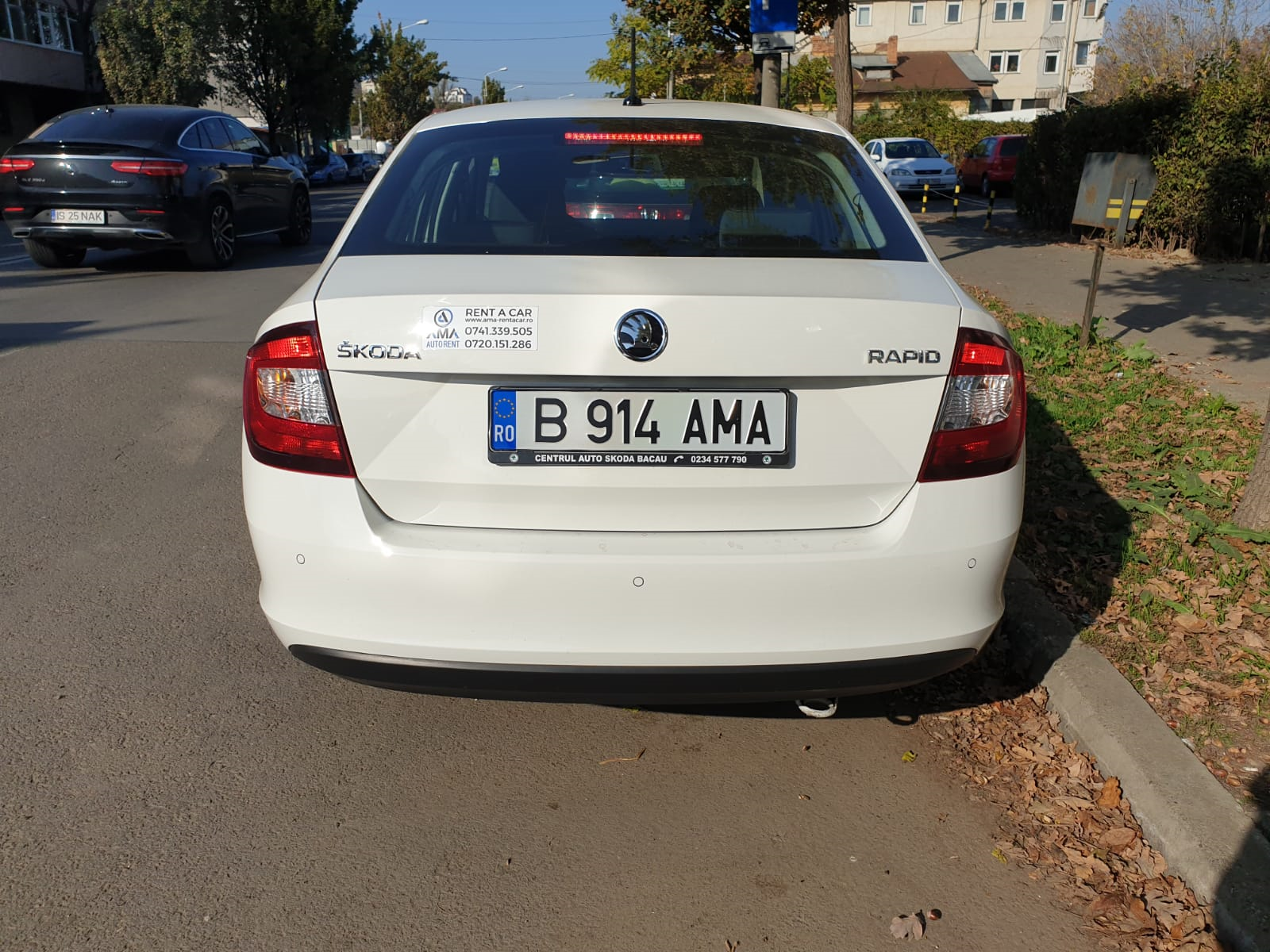 Imagine Inchiriaza auto SKODA Rapid 2019 4