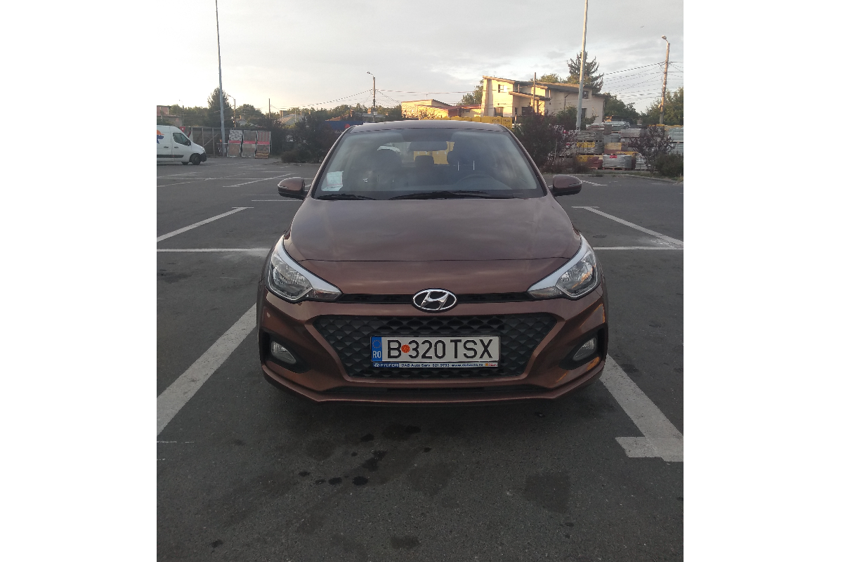 Imagine Inchiriaza auto HYUNDAI i20 2019 1