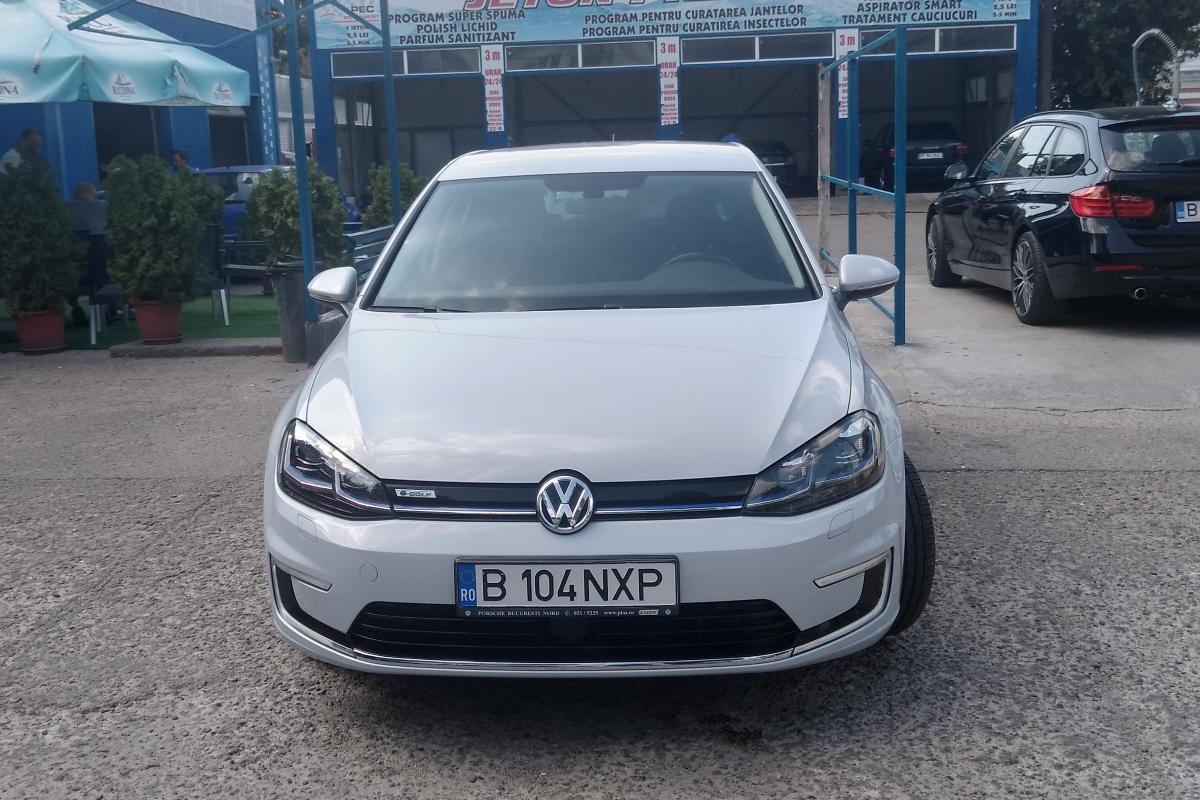 Imagine Inchiriaza auto VW e-golf 2019 1